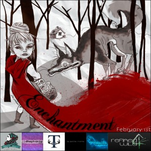 Enchantment Poster-Lil Red