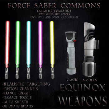 Force Saber Commons