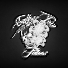 Endless Pain Tattoos Logo final
