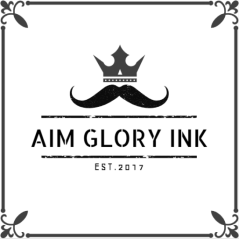 Aim Glory Ink ( new Logo )