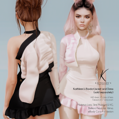 Kaithleen's Bardot Jacket and Dress Poster SL