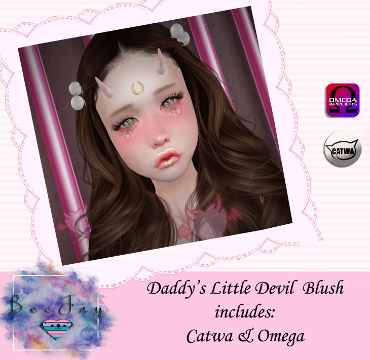 [BeeJay] Little Devil Blush Ad